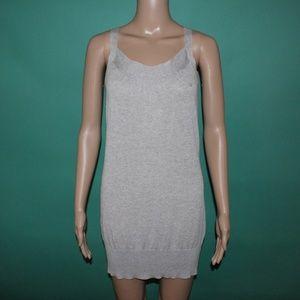 Escada Sport Gray Tank Top Dress